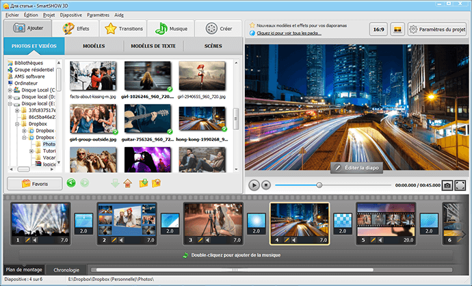 <b>montage</b> <b>video</b> <b>photos</b> <b>musique</b> <b>avec</b> des effets et du rythme ...