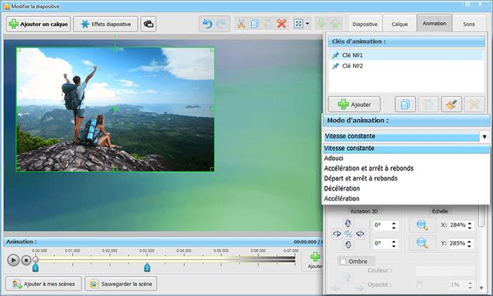 Comment animer une photo en diaporama   SmartSHOW 3D