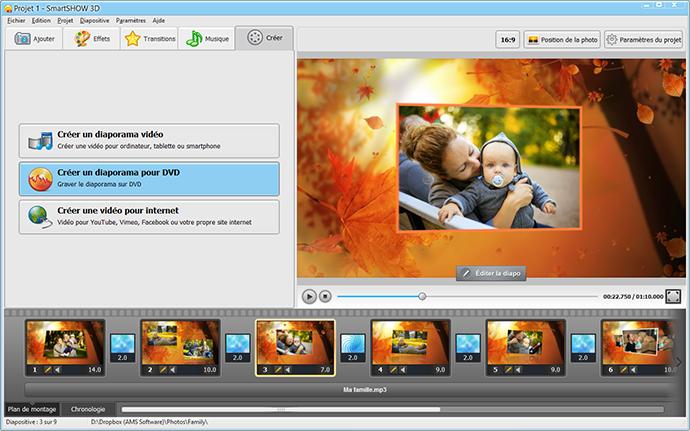 Comment faire un montage photo avec musique smartshow 3d for Ordinateur pour montage photo