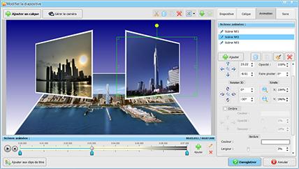 Meilleur logiciel pour faire un diaporama   SmartSHOW 3D